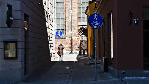 Riga Bike Signage