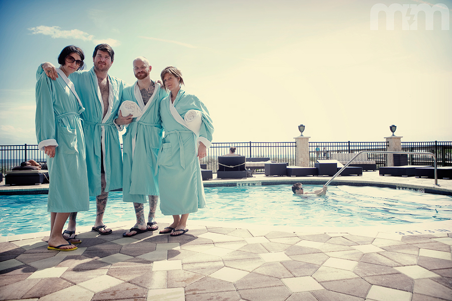 i didnt get the memo about the robes that were in our closets!