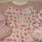2 *Multi-stage medium* Little Starter fitteds with shirt