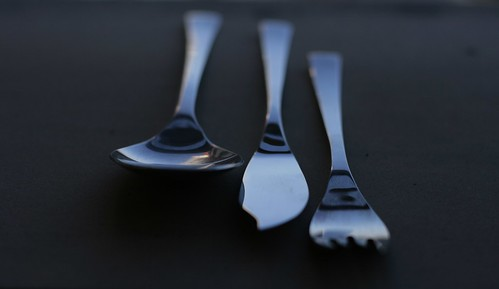 spoon, knife & fork