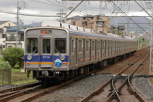 Nankai8200series in Shirasagi,Sakai,Osaka,Japan 2009/4/26