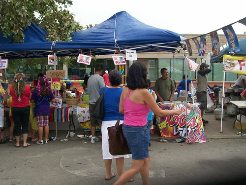 Fiesta food stand