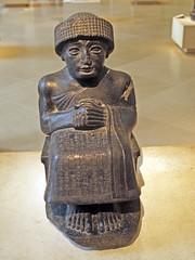 Louvre - Antiguedades sumerias (Rubn Hoya) Tags: paris france museum persian louvre museo francia babilonia persa sumerian babylonia asyrian asirio sumerio babilonico