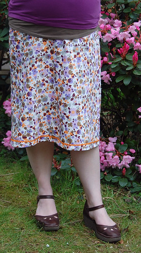 Another cotton Maternity Skirt
