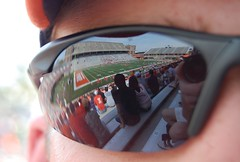 game reflections (Johnny Heger) Tags: college campus illinois spring universityofillinois urbana champaign uofi chipsi