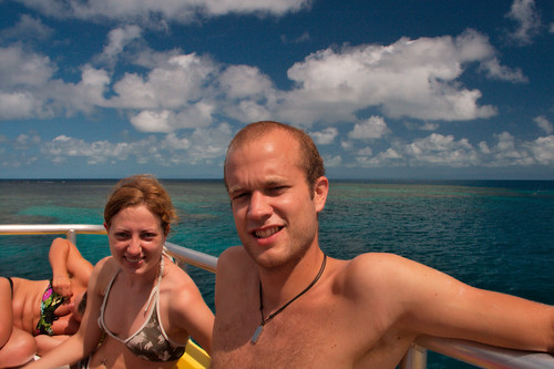 Haba Boat trip to the Great Barrier Reef