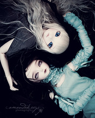 Opposite ({amanda too}) Tags: macro angel outside doll vampire naturallight 100mm bjd abjd miyu msd imara minifee woosoo amandakeeysphotography