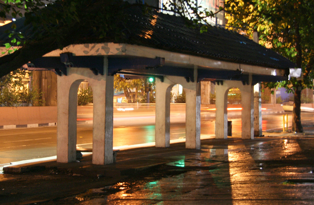 waiting shed at night Gems Photos and Videos