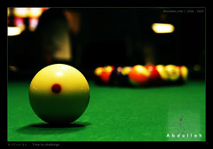 Billiard (Abdulla Attamimi Photos [@AbdullaAmm]) Tags: game green pool ball photography photo nikon photos balls 8 9 photographic billiards 2008 billiard 8ball 2010 abdulla abdullah amm   9ball   d90   tamimi       attamimi       desamm abdullahamm abdullaamm desammcom desammnet altamimialtamimi     abdullaattamimi abdullahattamimi