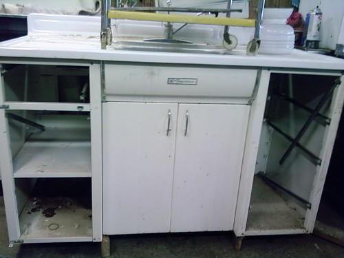 Signature sink cabinet