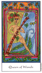 queen of wands (gwai) Tags: wand queen tarot queenofwands