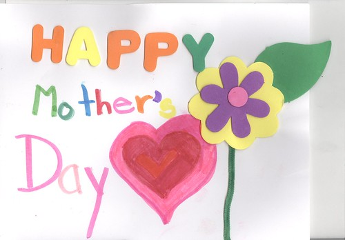 my mother day's card