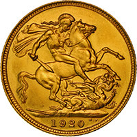 Australia Proof-1920-Sydney-Mint-Sovereign