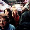 A Face in the Crowd (antonkawasaki) Tags: nyc newyorkcity movement eyecontact streetphotography explore squareformat iphone blondewoman 500x500 brunettegirl explored blurfocus thestare afaceinthecrowd ©antonkawasaki crowdedtimessquaresidewalk
