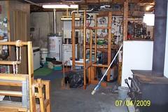 My studio..#2 (fleurdefibre) Tags: mill studio space textiles dye looms warping
