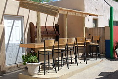 Corazon Outdoor Bar Area (The Real Santa Fe) Tags: corazon santafebar santafenightlife