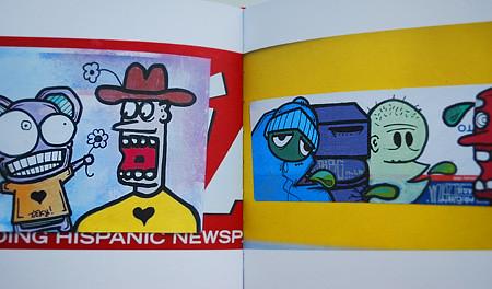 Martha Cooper's Going Postal graffiti stickers