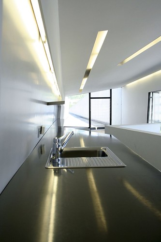 Zaha Hadid - Vitra Firehouse Kitchen Upstairs
