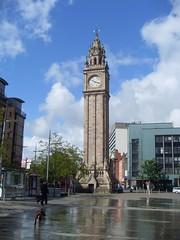 Albert Clock, Belfast (cessna152towser) Tags: dog clock architecture belfast clocktower