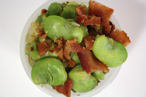 Bacon and Fava Beans