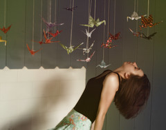 (Scarborough Fair) Tags: selfportrait origami thedecemberists papercranes