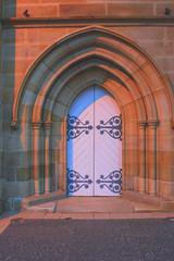 Church Doors (X POSE) Tags: church bells doors
