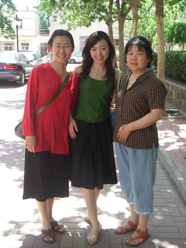 Ladies at Tianjin Conservatory of Music