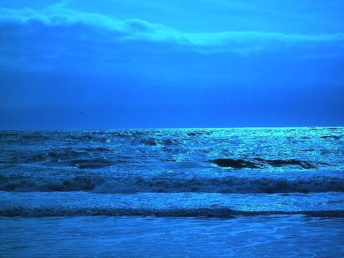 Nubes y olas. Rota, Cádiz por ti.