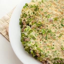 Green Bean Omelette