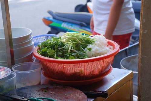 pho veg and herb