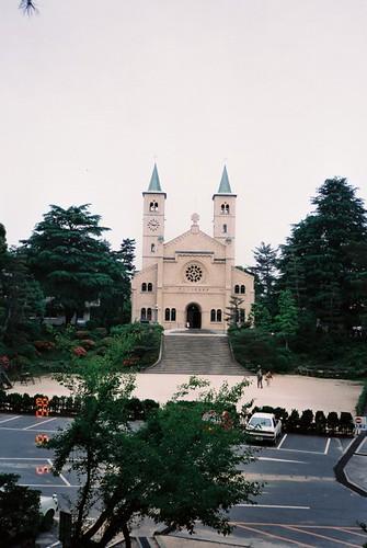 山口カトリック教会 ザビエル記念聖堂(1991焼失)