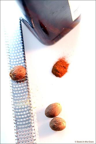 Cinnamon, Nutmeg, Vanilla