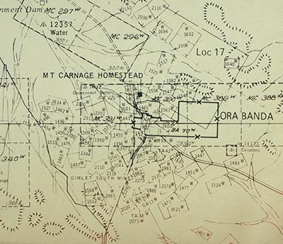 Ora Banda map