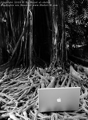 MacBook Pro (Majed Al-Shehri   ) Tags: bw mac pro shehri macbook mywinners     nikond300  beautifulbali