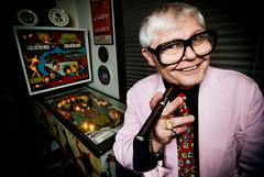 CHUCK HARRIS - The Wizard of Odd (Mark Berry - Photographer & Graphic Designer) Tags: california carnival portrait vintage toys glasses weird photo losangeles berry comic cola personal wizard mark smoke cigar odd pinball comedian chuck agent oddities harris midget barker manager burlesque coca freaks catman motleycrue entrepreneur wolfboys candibarr roselarose
