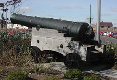 Cannon at Montrose (lapsuskalamari) Tags: uk mystery scotland plc britain angus guess picture location cannon montrose guessed pharmaceuticals exhumed unidentified glaxo forfarshire guesswhereuk gwuk guessedbysimonk