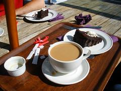 Coffee break in Glencree