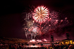 Happy Birthday America (Turn to Clear Vision) Tags: minnesota fireworks 4th july stcroix stillwater 4thofjuly liftbridge
