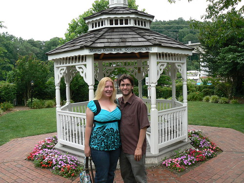 Occoquan - Ryn and Alex in Mamie Davis Park