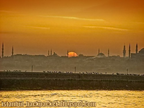 Istanbul Sunset over Sultanahmet