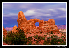 Turret Arch (James Neeley) Tags: sunrise landscape arches moab framing archesnationalpark turretarch northwindowarch jamesneeley