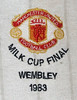 Manchester United 1983 League Cup Final badge