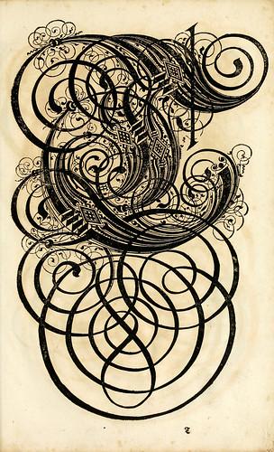 005--Kunstrichtige Schreibart  allerhand Versalie..Paul Frank 1655