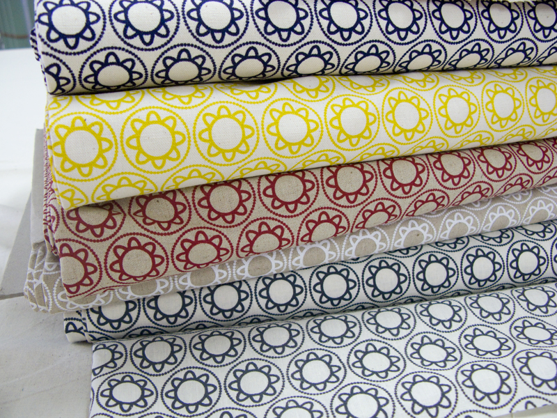 Delft fabric stack