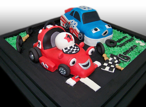 Roary The Racing Car Cake (Brayden)