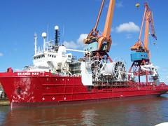 Skandi Hav (tompa2) Tags: fartyg vatten kran sverige göteborg västergötland götaälv hisingen sweden gothenburg offshoresupplyship schweden ship