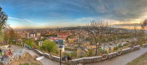 Cluj View from Belvedere