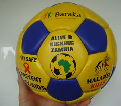 Baraka's Alive & Kicking Football for Zambia!