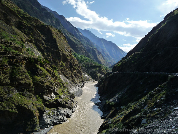 Bharmour River Ravi