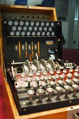 Abwehr Enigma (Ninoxowl) Tags: world park uk war buckinghamshire enigma ii cyphers bletchley codes